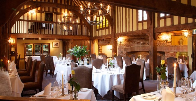 The Swan at Lavenham, Gallery restaurant