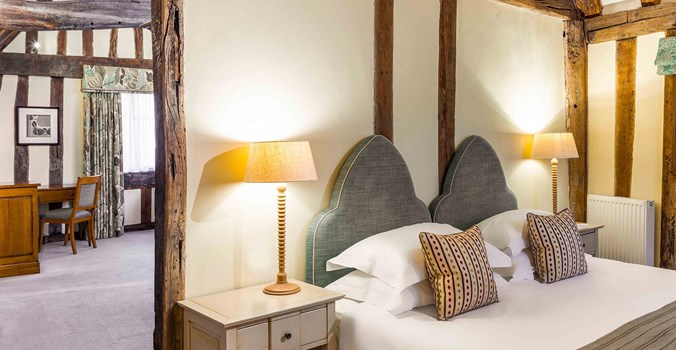 bedroom at The Swan at Lavenham