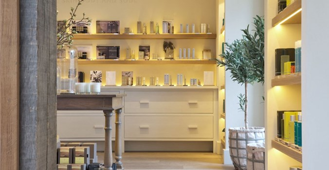 Weavers' House Spa Lavenham, shop and products